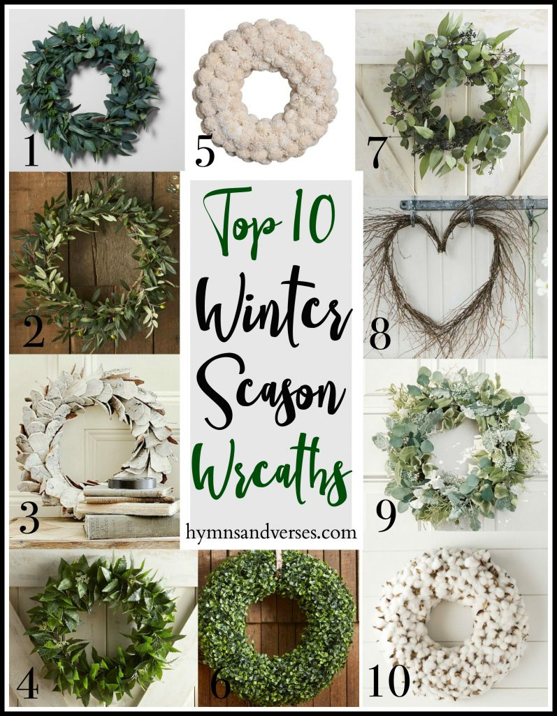 Top 10 Winter Season Wreaths
