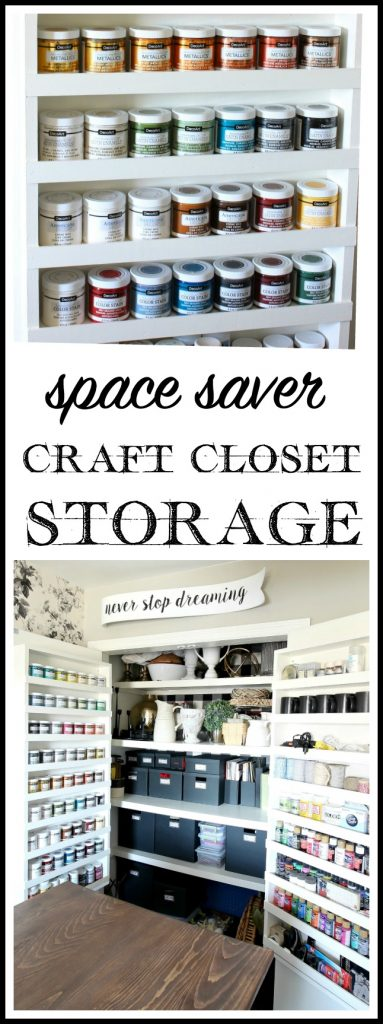 Space Saver Craft Closet Storage