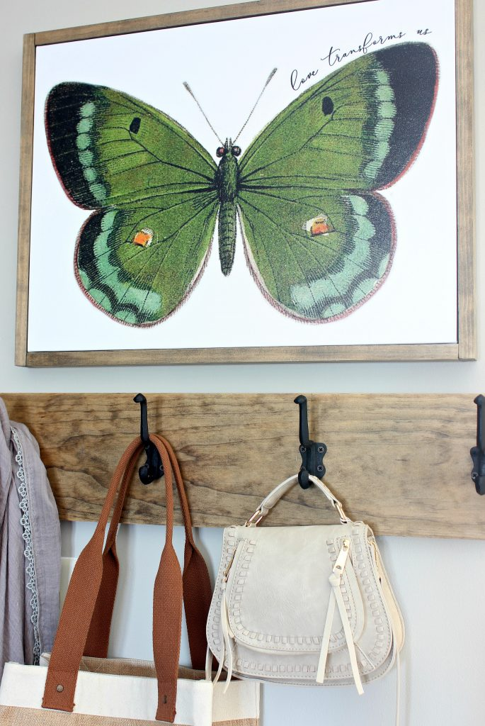 2018 Spring Home Tour - Butterfly Canvas