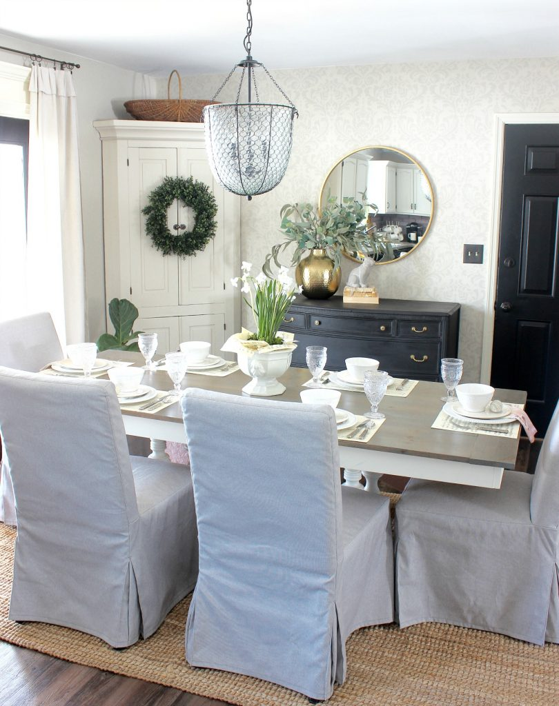 2018 Spring Home Tour - Dining Room