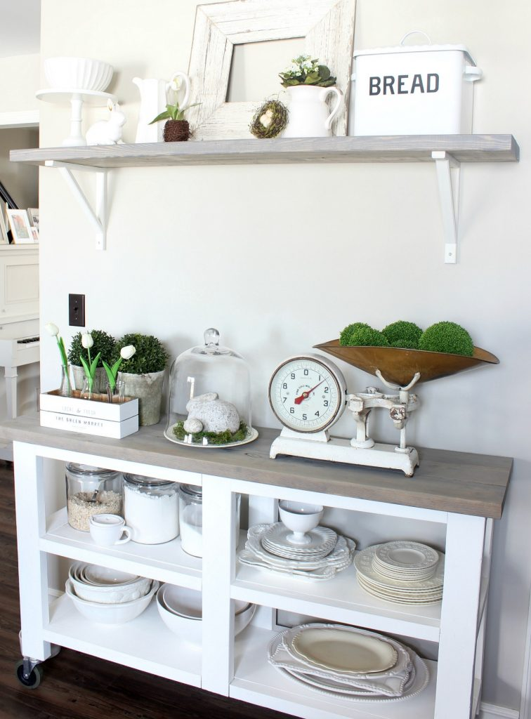2018 Spring Home Tour - Kitchen Cart