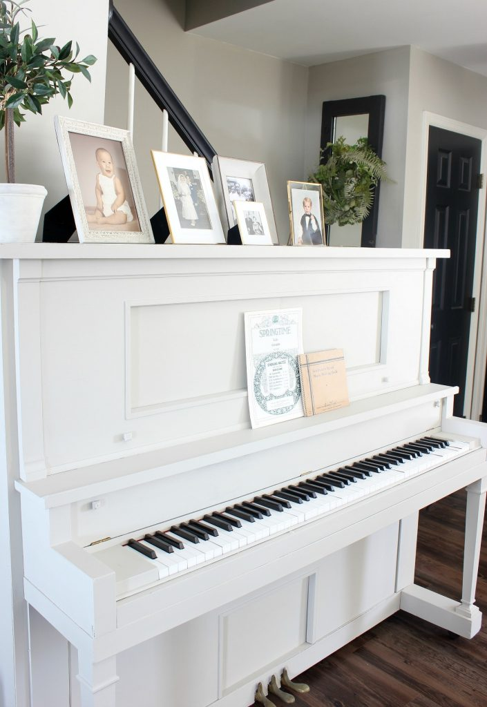 2018 Spring Home Tour - piano