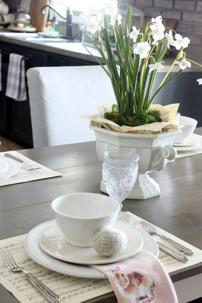 2018 Spring Home Tour - Table Setting