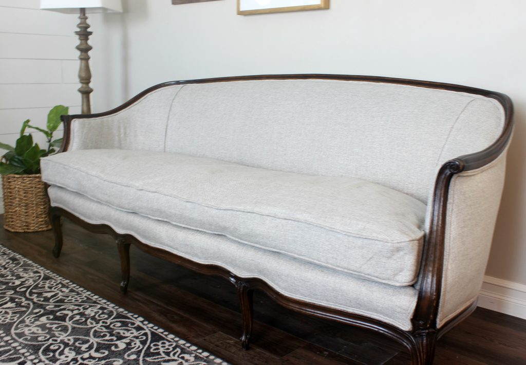 Reupholster French Sofa