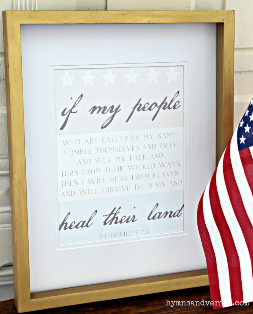 2 Chronicles 2:14 Fourth of July Printables