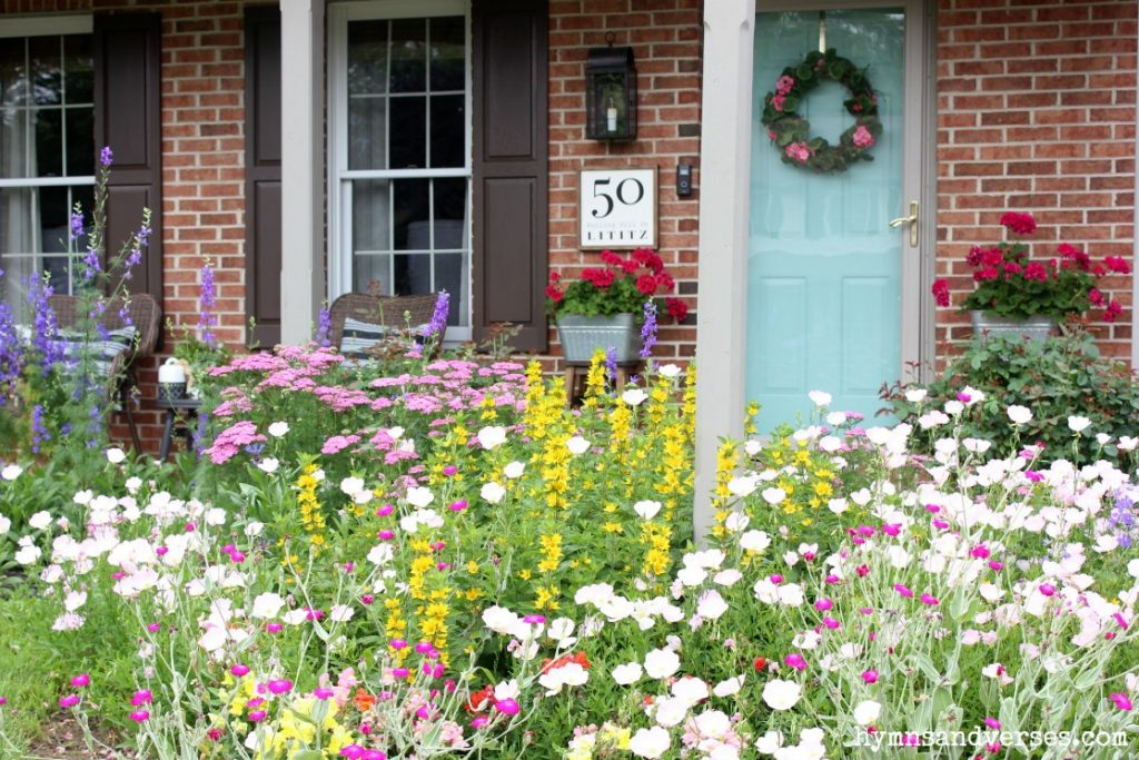 Cottage Garden and Summer Front Porch