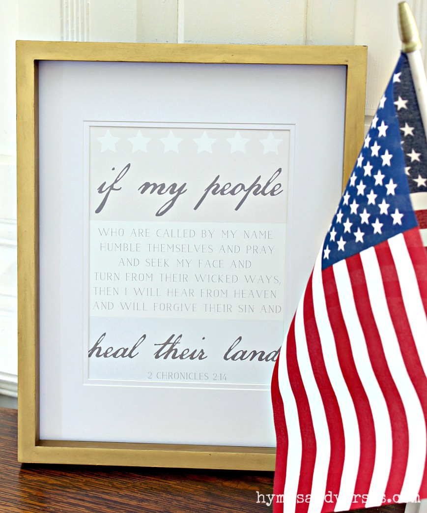 If My People Fourth of July Printables