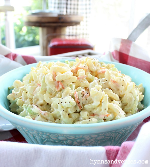 Easy Pennsylvania Dutch Macaroni Salad