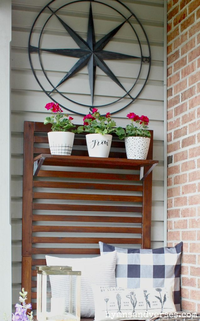 Iron Compass Summer Front Porch