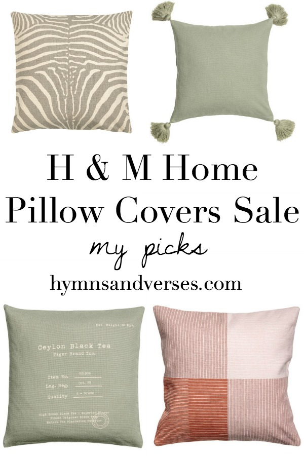 My Picks H & M Pillow Covers