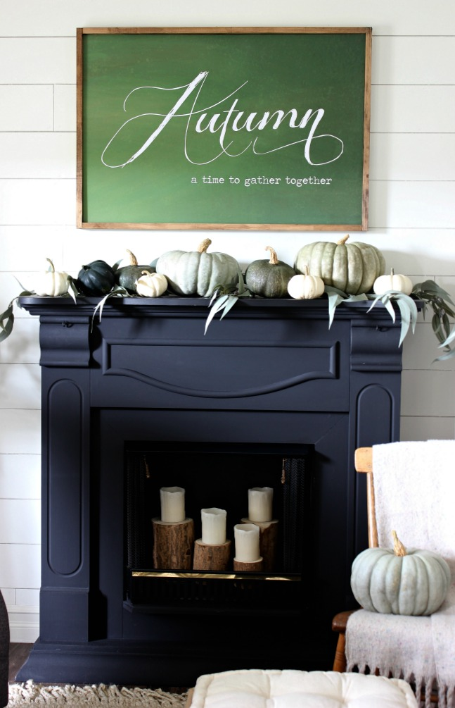 Fall Home - Mantel
