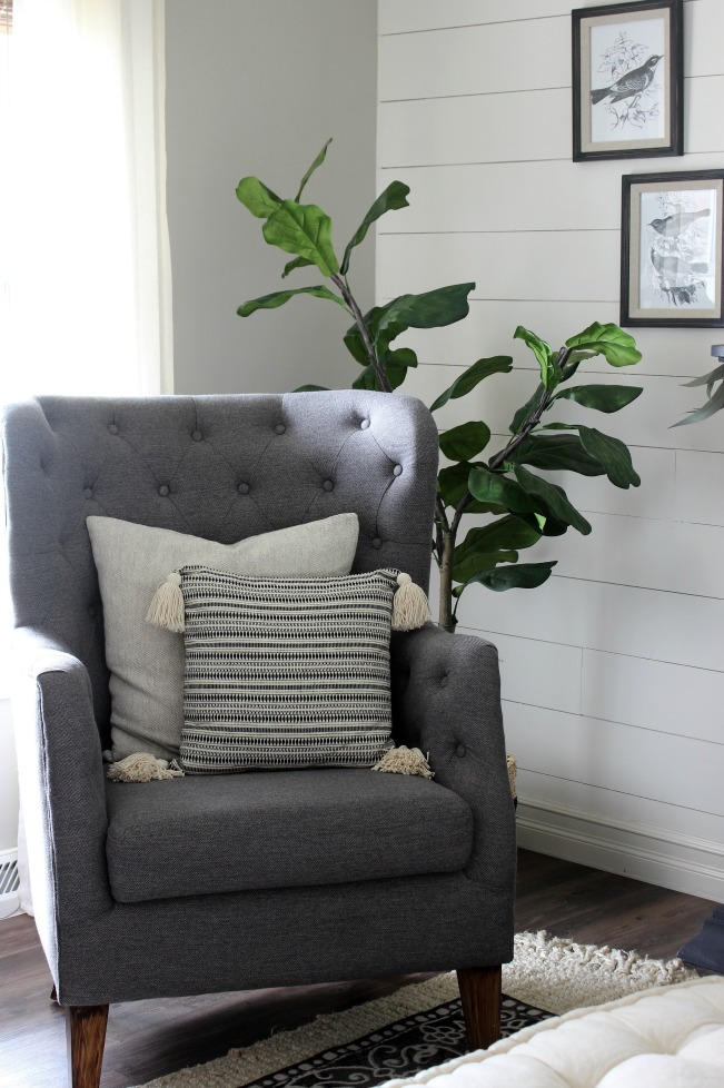 Fall Home - Gray Chair