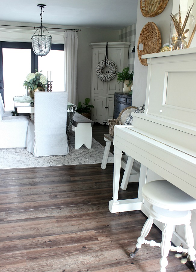 Fall Home - Vintage Player Piano