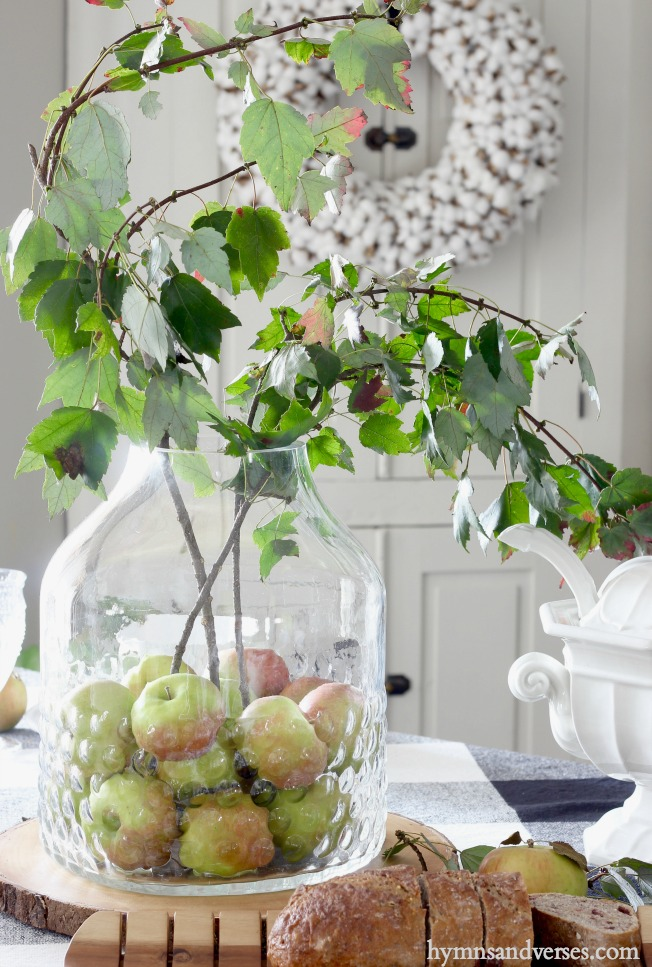 Apple Picking Tablescape