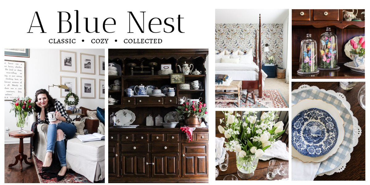 A Blue Nest - Get to Know These Home Bloggers
