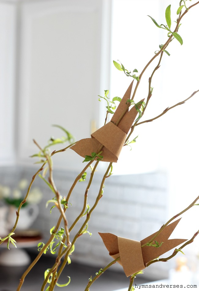 Hymns and Verses | How to Make a Paper Bird