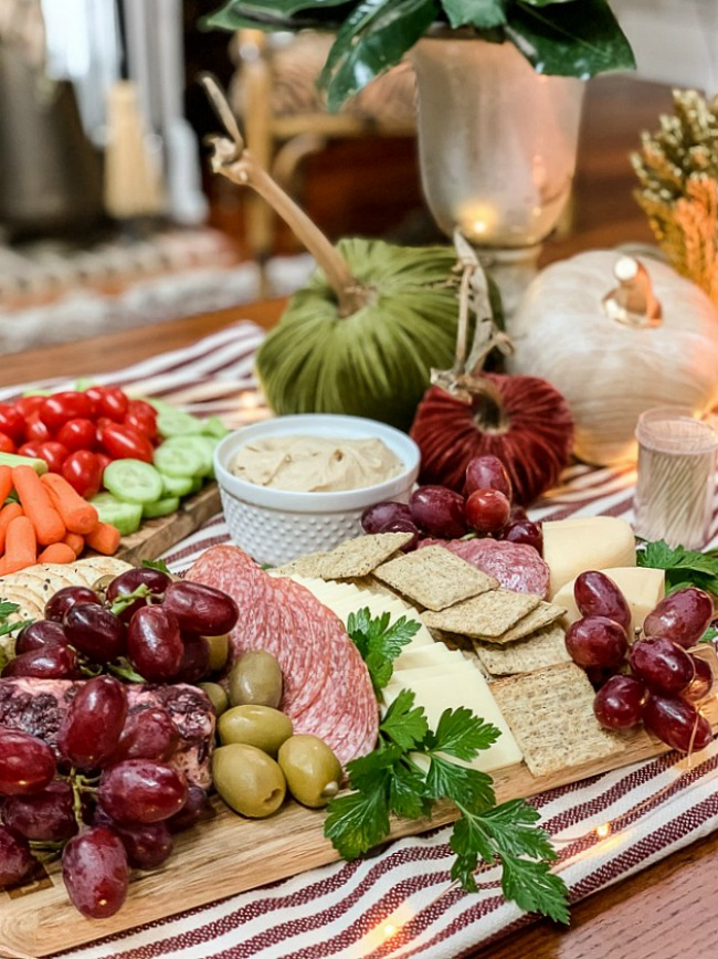 Fall Charcuterie Spread - Our Southern Home