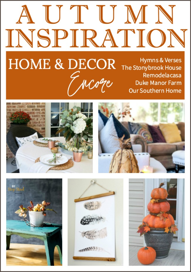 Autumn Inspiration from Home and Decor Encore