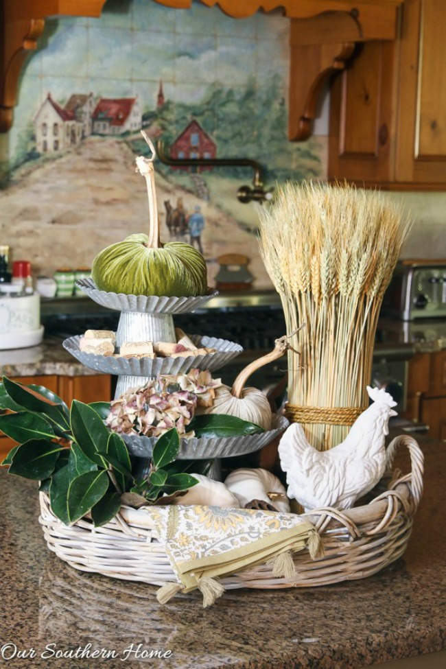 Decorating with Cake Stands - Our Southern Home