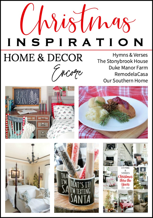Christmas Inspiration from Home and Decor Encore