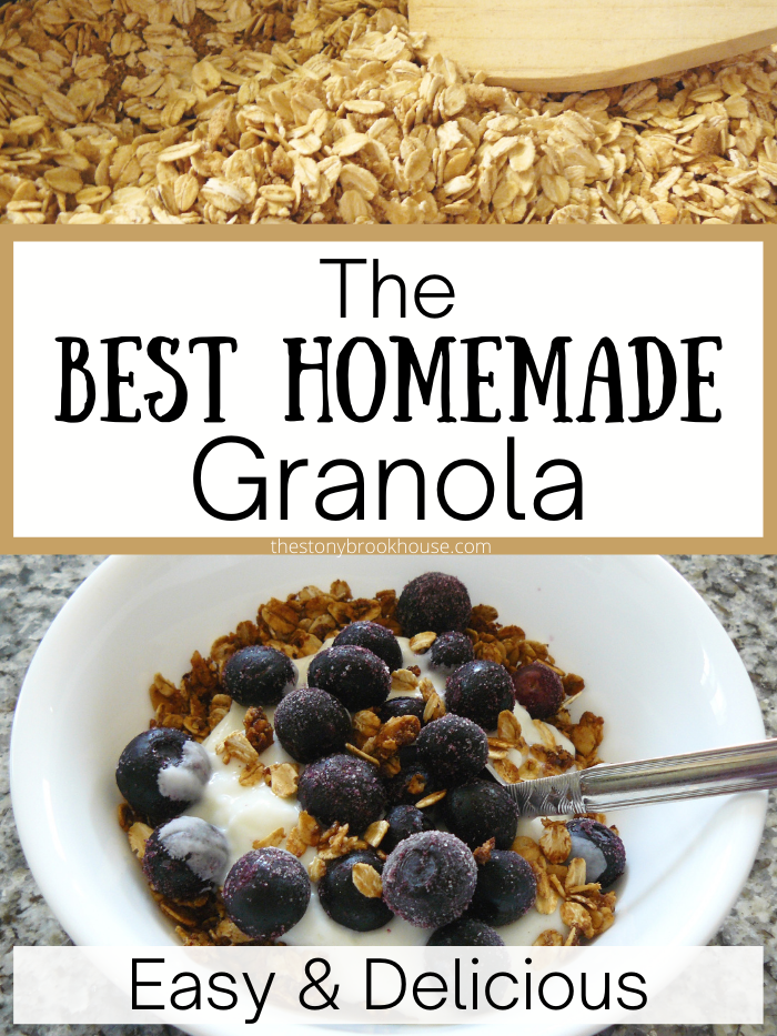 The Best Homemade Granola - The Stonybrook House