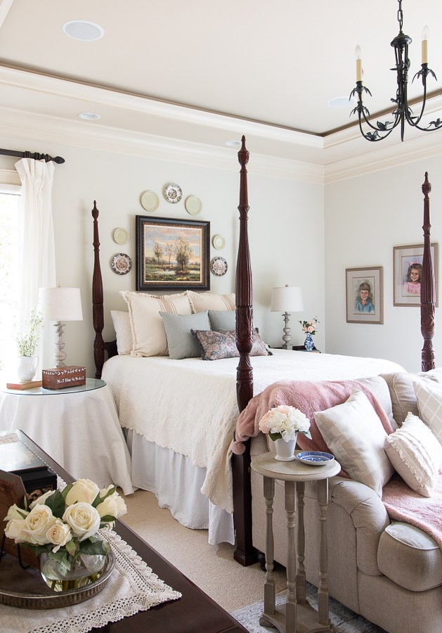 Spring Master Bedroom - Our Southern Home